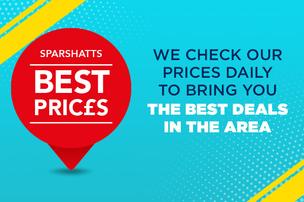 Sparshatts Price Guarantee