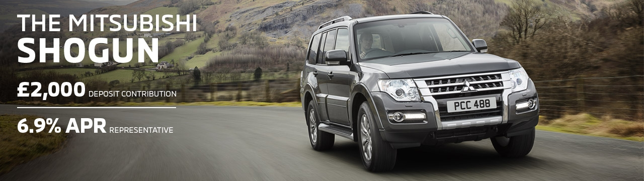 Mitsubishi Shogun available with 6.9% APR