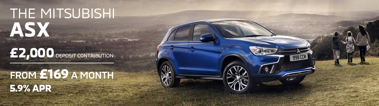 Mitsubishi ASX available from £169 a month