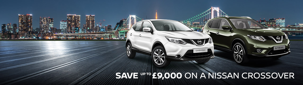 Sparshatts Nissan - Save up to £9000 on a crossover